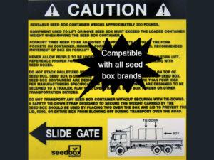 Caution Sticker Left $3<br>Case Quantity: 25