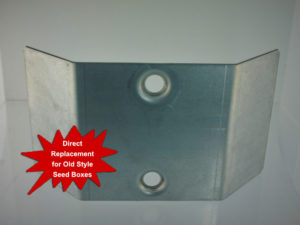 Center Hit Plate for Old Style Seed Boxes $3.56<br>Case Quantity: 34