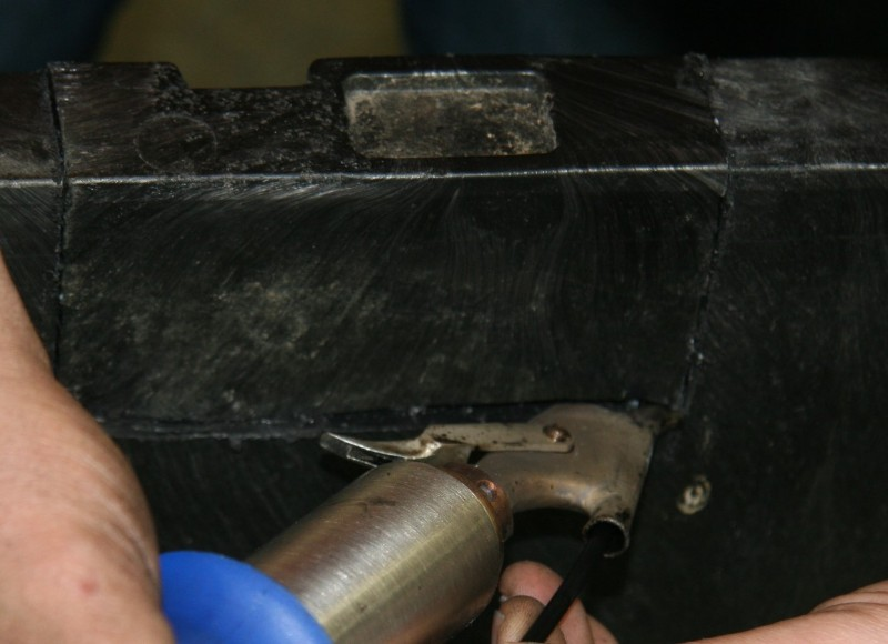 Buckhorn Centerflow Seed Box Repair